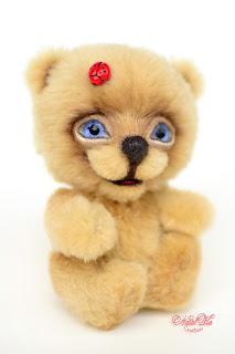 Artist teddy bear, handmade bear, buy bear, ooak bear, NatalKa Creations, teddies with charm, teddy bears, Künstlerteddy, Künstlerbär, Teddybär, Unikat