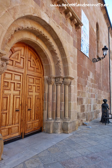 Portada iglesia la Mayor, Soria