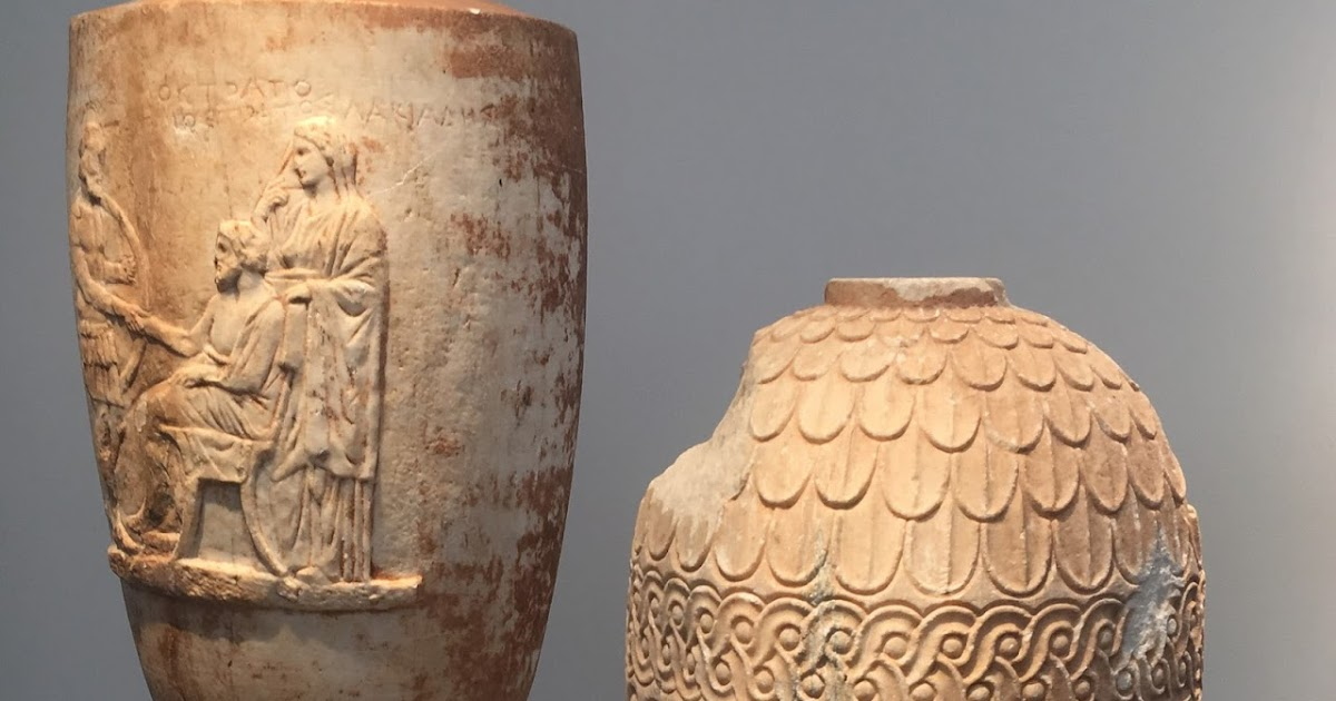 Looted Greek antiquities allegedly on sale at London art fair