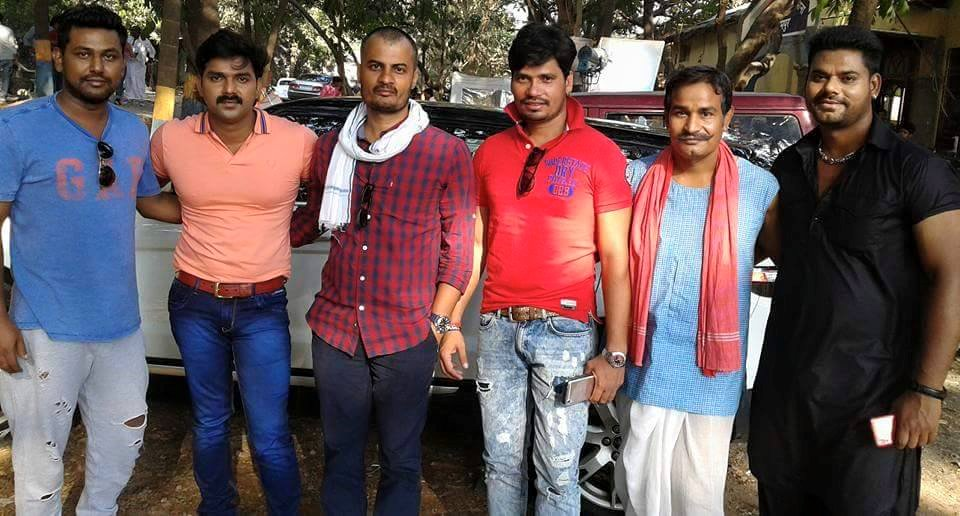 ON Set of Loha Pahalwan Bhojpuri Film Shooting photo