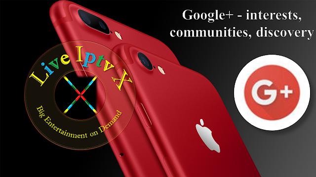 Google+ - interests