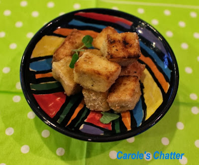 Salt & Pepper Tofu by Carole's Chatter