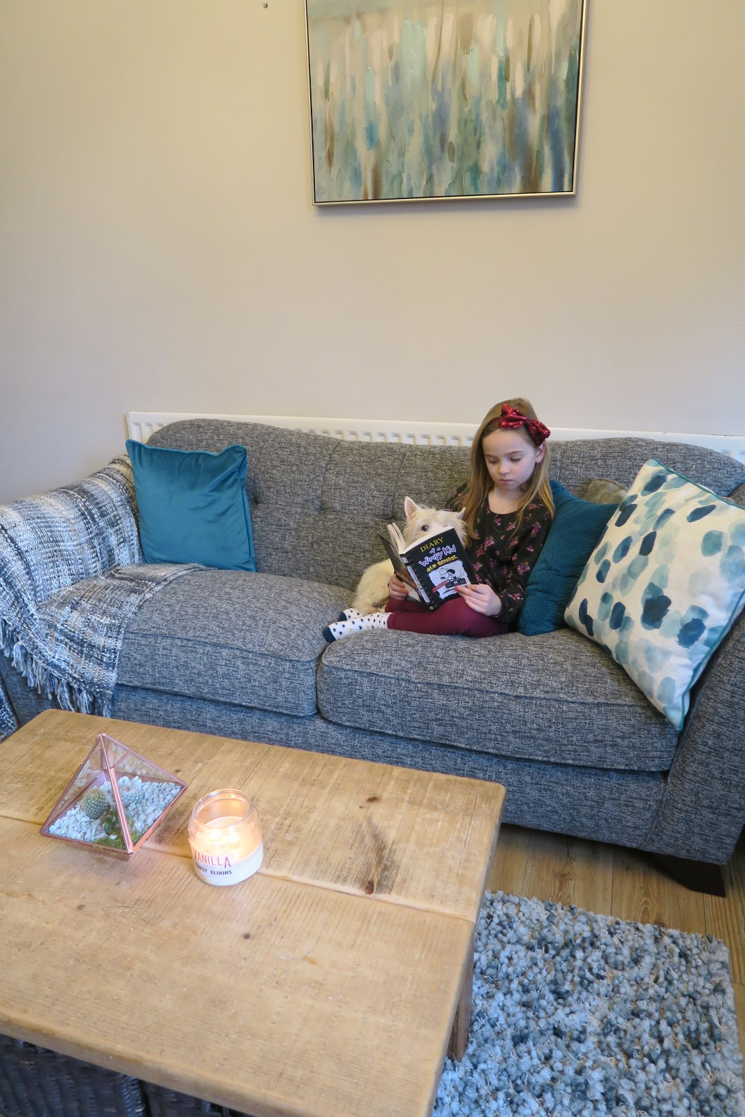 Our House Makeover...Starting With The Sofa