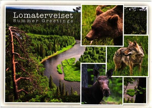 Lomaterveiset czyli Pozdrowienia z wakacji