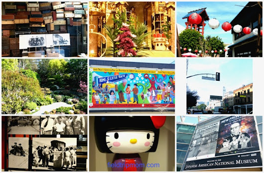Visiting Little Tokyo in Downtown Los Angeles