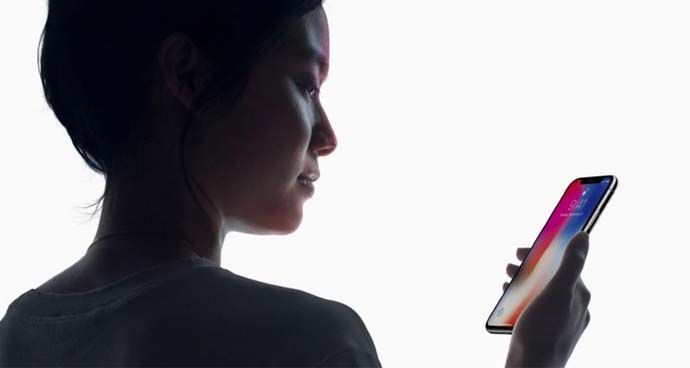 Face ID pada Iphone X