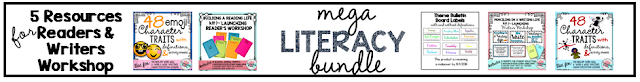 4th 5th grade mega literacy bundle common core