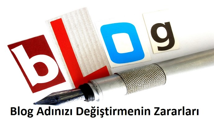Blog Adını Değiştirmenin Zararları