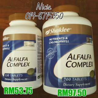 Alfalfa; masalah keputihan; kacip fatimah modern; Shaklee Penang; Shaklee balik palau; Shaklee Labuan; Shaklee Brunei;
