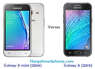 Harga dan Perbedaan Galaxy J1 mini (2016) dengan J1 (2015)