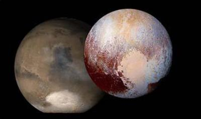Shedding light on Pluto's glaciers