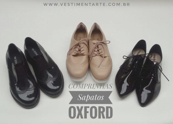 Sapatos Oxford Femininos Onde Comprar