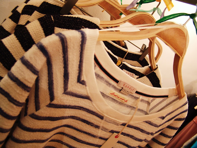 A truly want this soft striped Esprit sweater