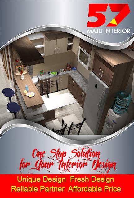 Jasa pembuatan kitchen set Kediri, Kitchen set murah, harga kitchen set kediri