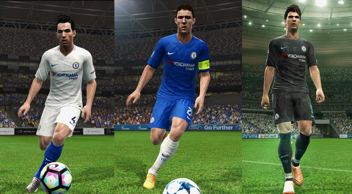 Ultigamerz: PES 2013 Chelsea FC 2017-18 GDB New Update