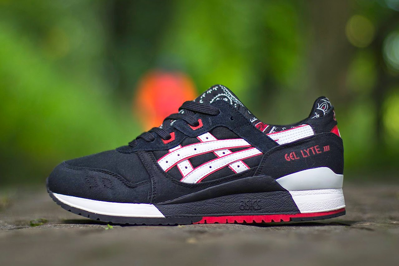 """reputable site 5e585 63a64 ASICS Gel Lyte III """"Paisley"""" Pack - Planet of the Sanquon"""