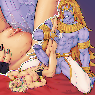 heaven ascended dio eyes of heaven jjba porn art trans jjba oc