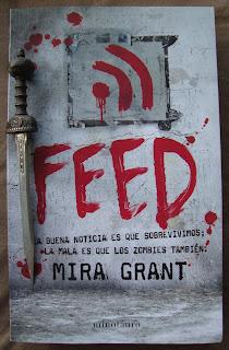 Portada del libro Feed, de Mira Grant