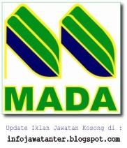 Iklan Jawatan Kosong Lembaga Kemajuan Pertanian Muda (MADA)
