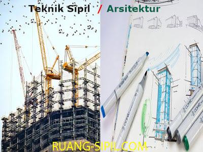 teknik sipil vs arsitek