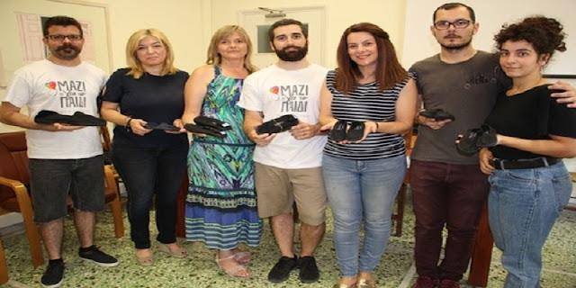 052ddbf44c9 Κατά τη διάρκεια της δράσης είχαν τη δυνατότητα 400 παιδιά δικαιούχων του  Κοινωνικού Παντοπωλείου του Δήμου Χανίων, του Ξενώνα Φιλοξενίας του Δήμου  και των ...