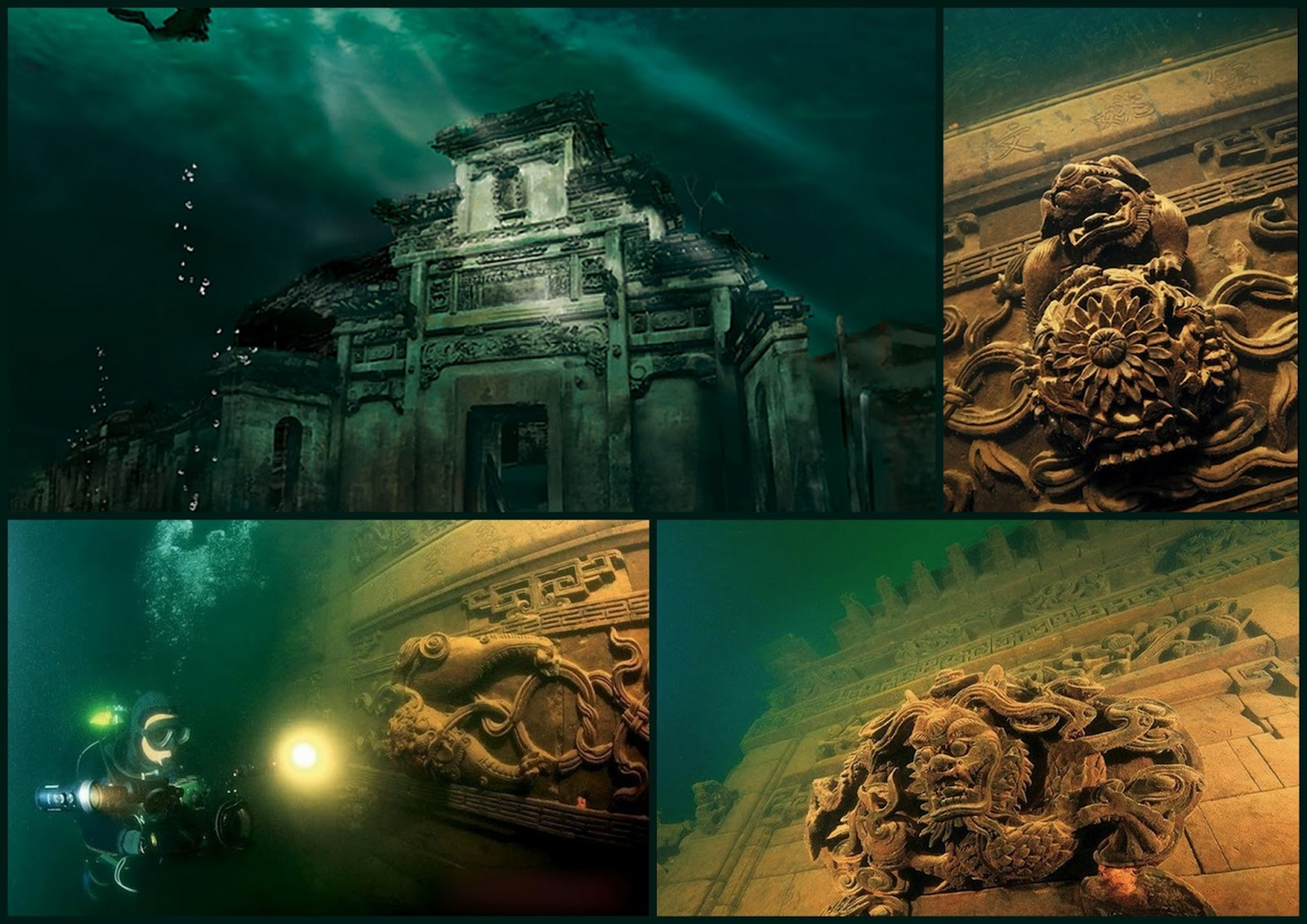 shicheng underwater city - Images for shicheng underwater city