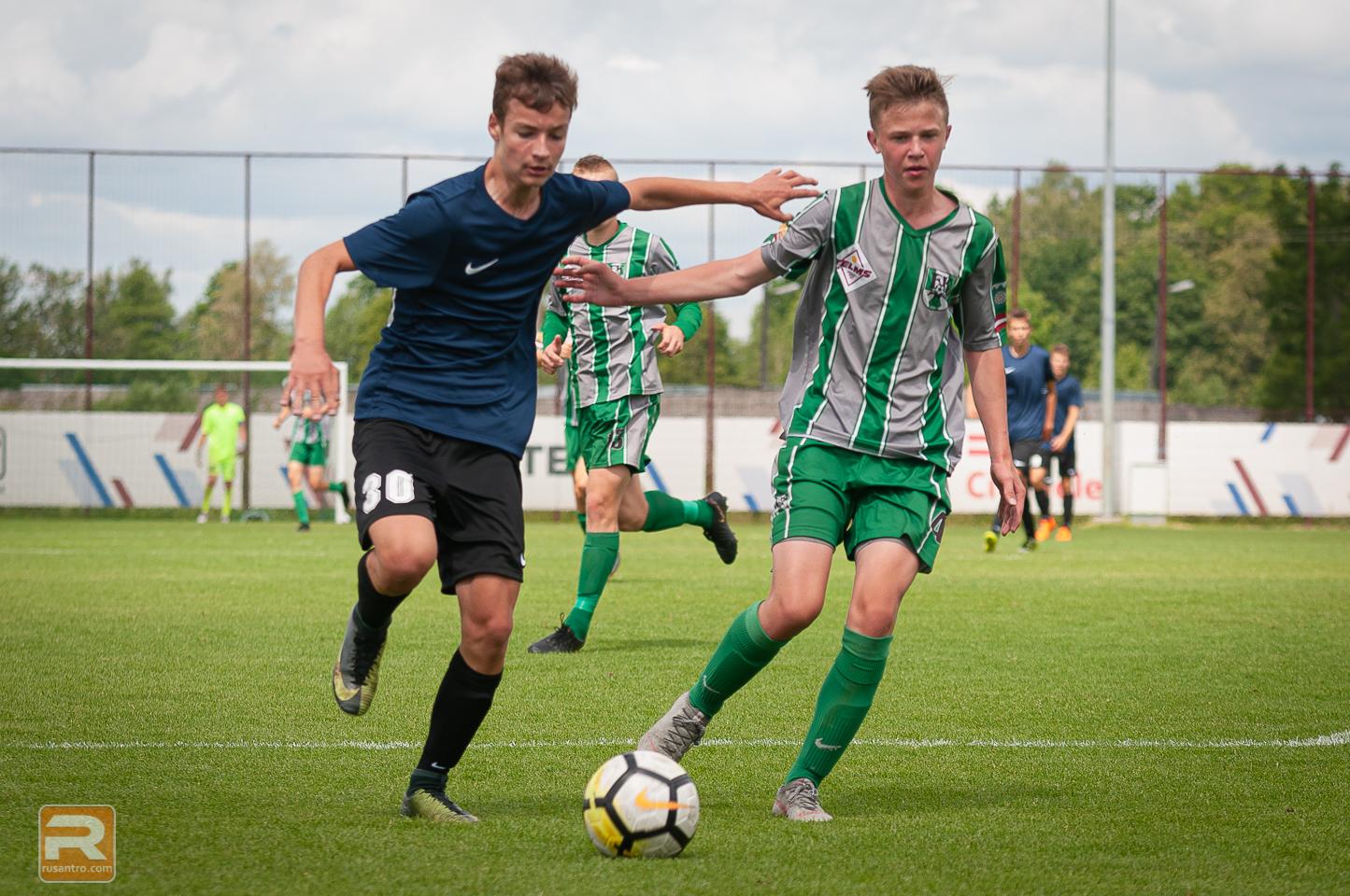 Jelgavas futbolisti cīnās par bronzas medaļām