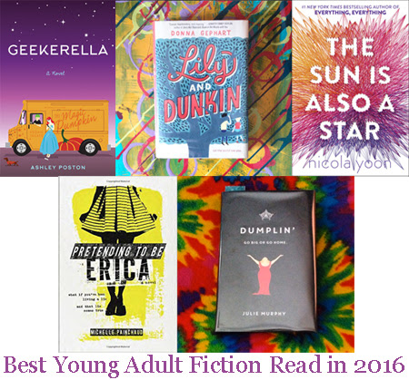 Best Young Adult Fiction Read in 2016