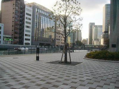 大阪市・中之島公園・大阪水上バス・アクアライナー