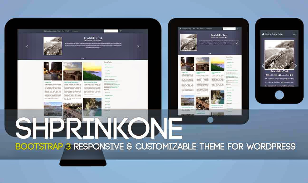 ShprinkOne WordPress Theme