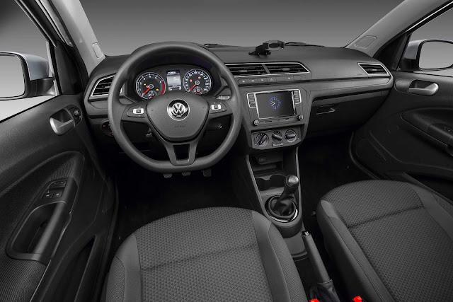 Volkswagen Gol 2019 - interior