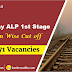 Railway ALP Cut Off 2018 Out | Check Now