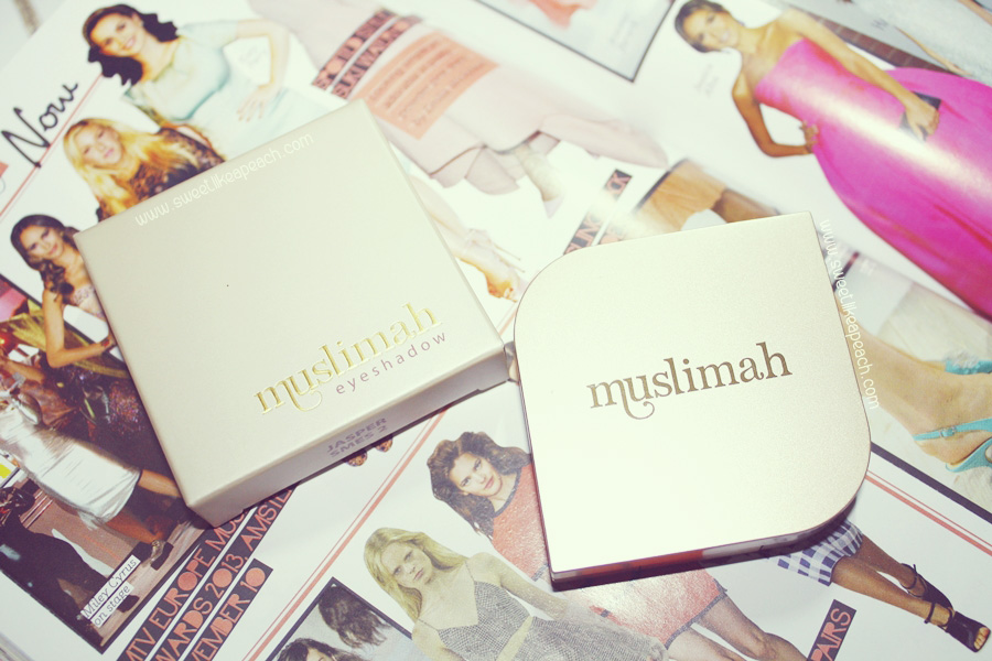 eyeshadow Muslimah Cosmetics by Sophie Paris