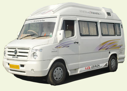 Luxury 19 Seater Tempo Traveller