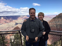 Randy & Brita - Springtime at Grand Canyon