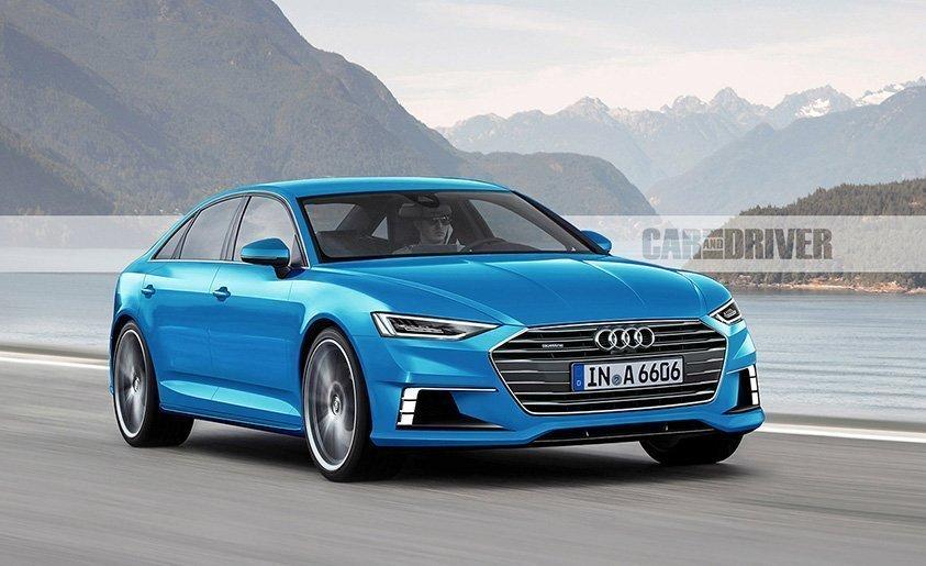 Giá Xe Audi A6 Đời Mới Nhất 2018
