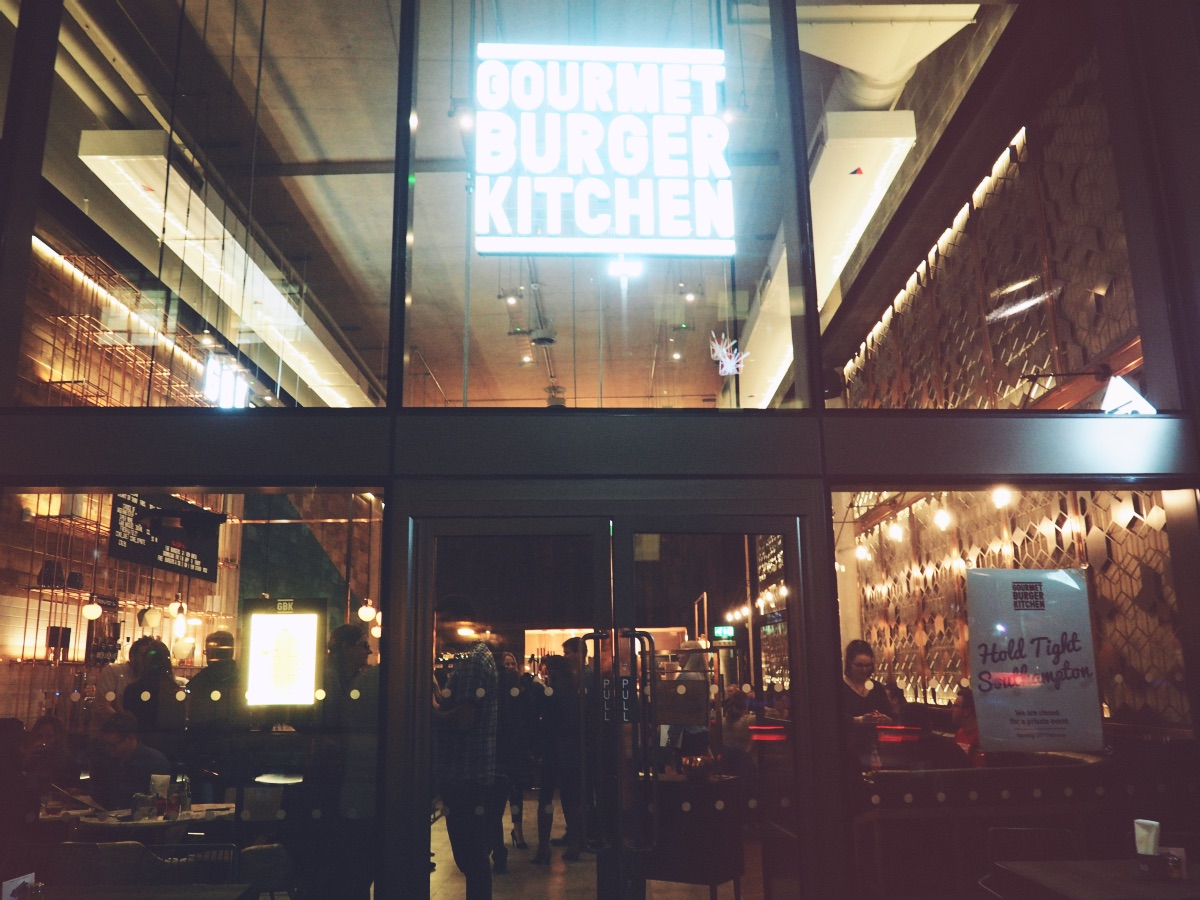 Gourmet Burger Kitchen Southampton Opening Night