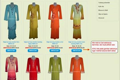 3 Tips Mudah Beli Pakaian Secara Online