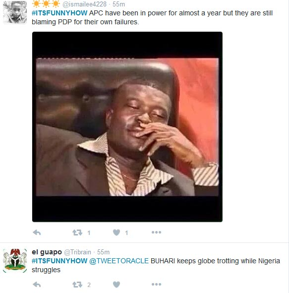 Nigerians Talk About Issues Facing The Country As #ItsFunnyHow Trends On Twitter