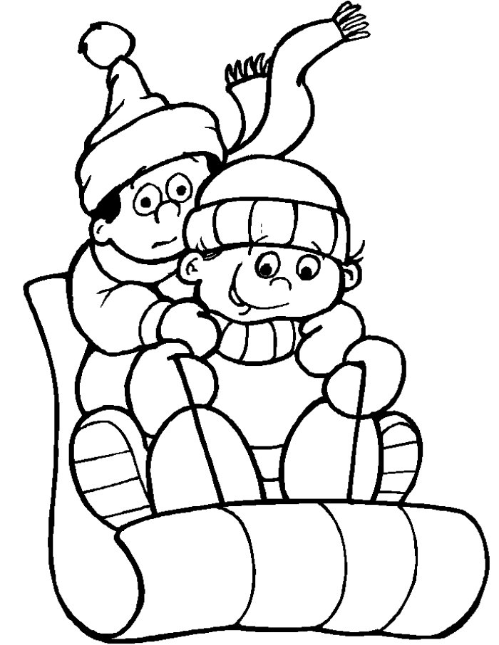Coloring Pages Winter Coloring Pages And Clip Art Free : Winter ...