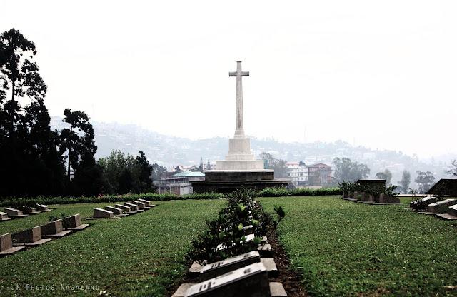 Photo of World War II Memorial Cemetery in Kohima