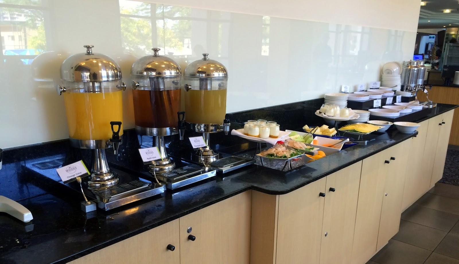 Melbourne Parkview Hotel Breakfast Buffet