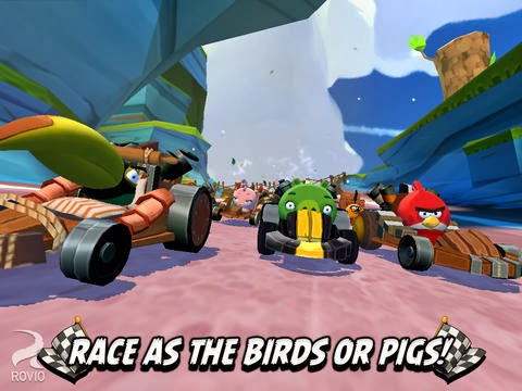 Download Angry Birds Go for PC(Windows/Mac) Free, Go Angry