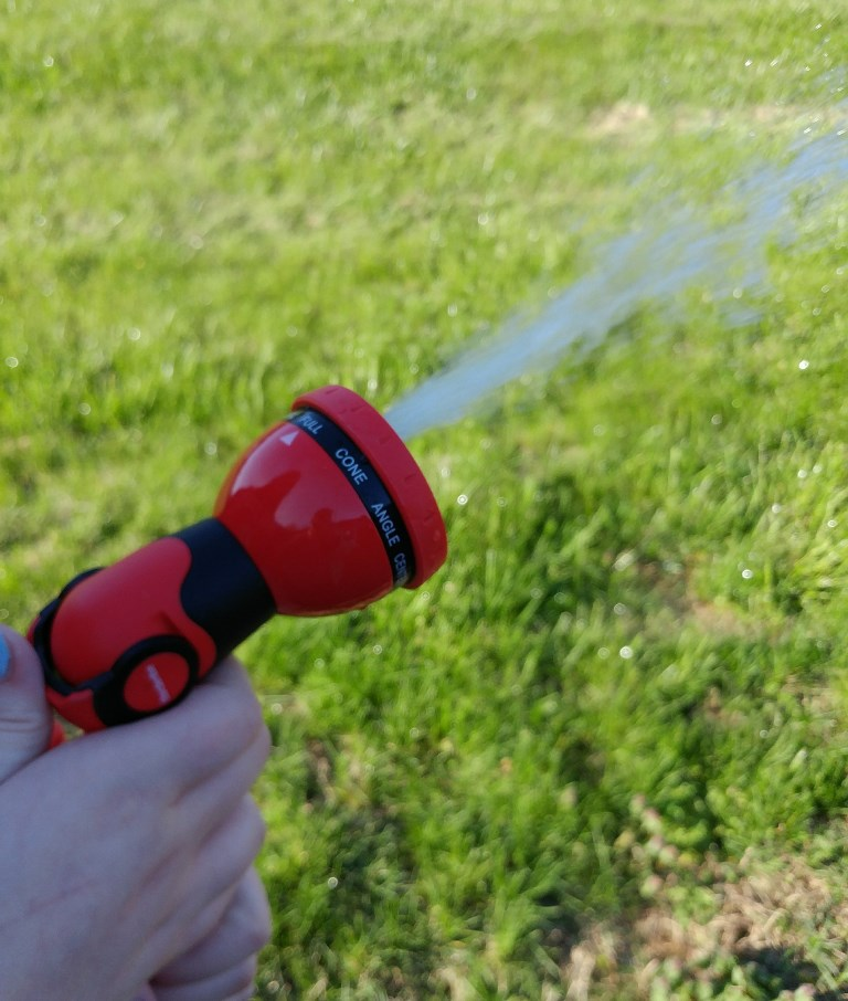 Gardenite Garden Nozzle Hand Sprayer review & giveaway #ad