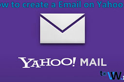 How to make Email on Yahoo mail