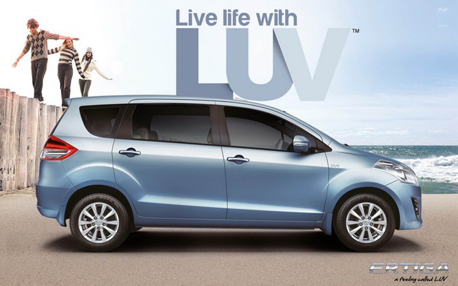 Wallpapers: Maruti Suzuki Ertiga Photos And Wallpapers