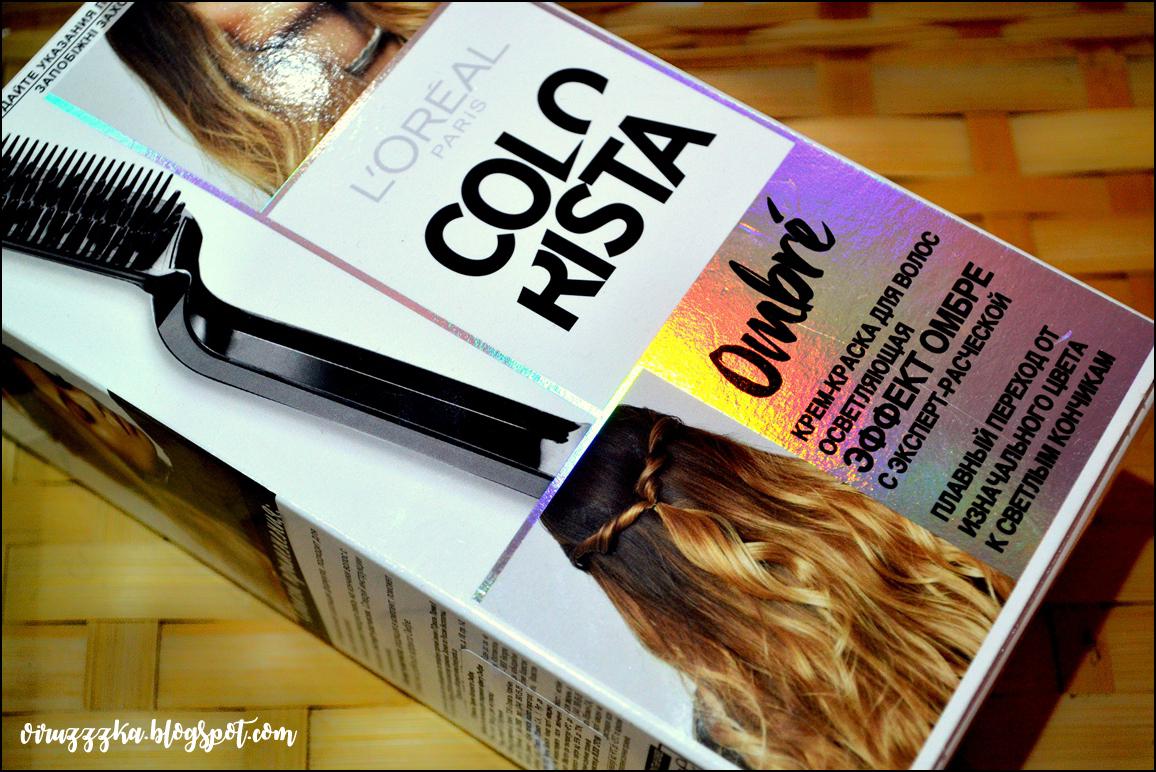 Крем-краска для волос осветляющая  L'Oréal Paris Colorista Effect Ombre