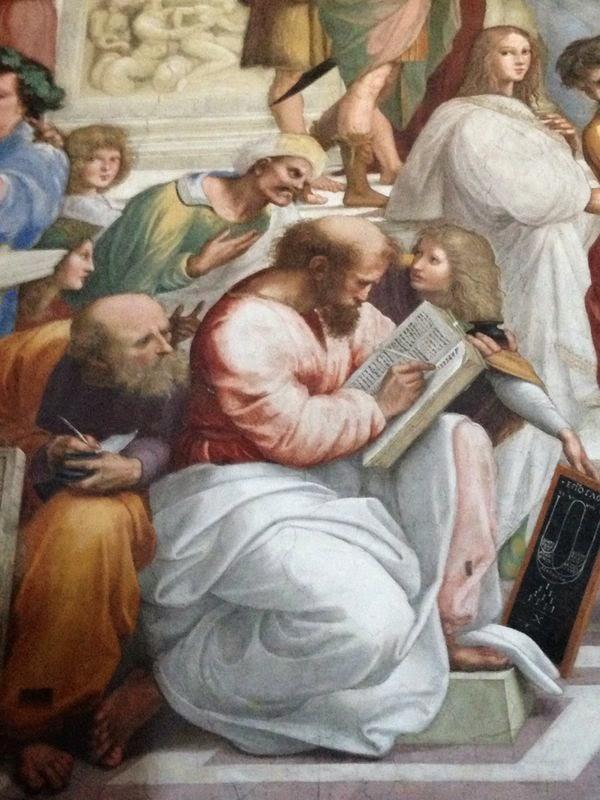 Las matemáticas, la religión y el arte