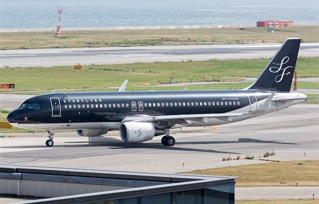 Starflyer Airbus A320-200 at Haneda Airport