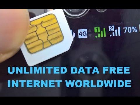 UNLIMITED FREE INTERNET 3G/4G DATA Mobile SIM Worldwide - DMZ Networks